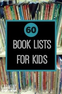 Over 60 book lists for kids on topics like transportation, autism, holidays, cooking and more!
