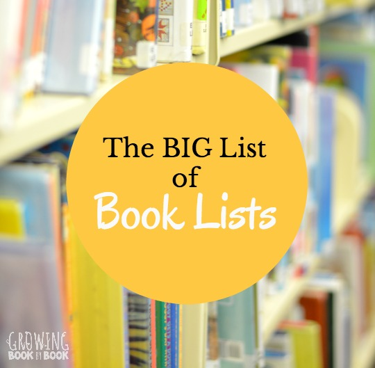 Lots and lots of book lists of great books for kids.