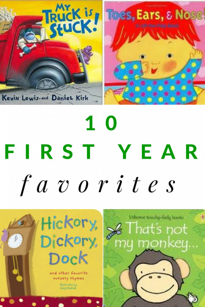 Favorite books for baby's first year. These first year favorites will surely be hits with your baby too.