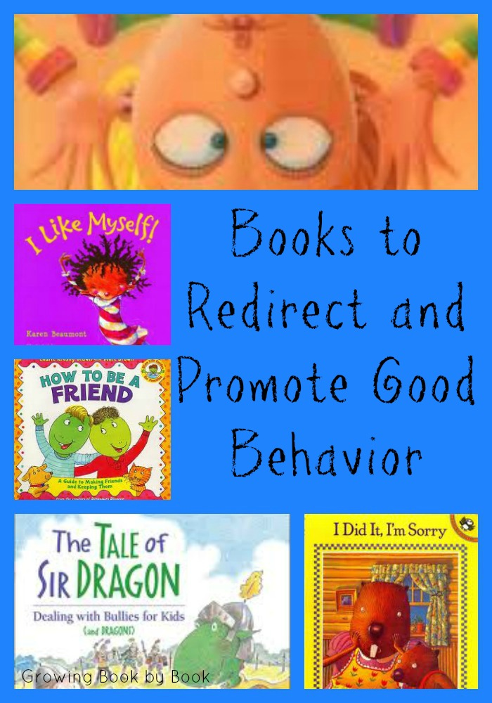 promoting and redirecting behavior book list
