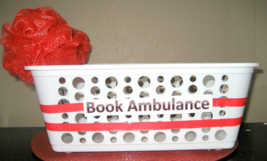 Teach kids how to take care of books plus learn how to repair damaged books.
