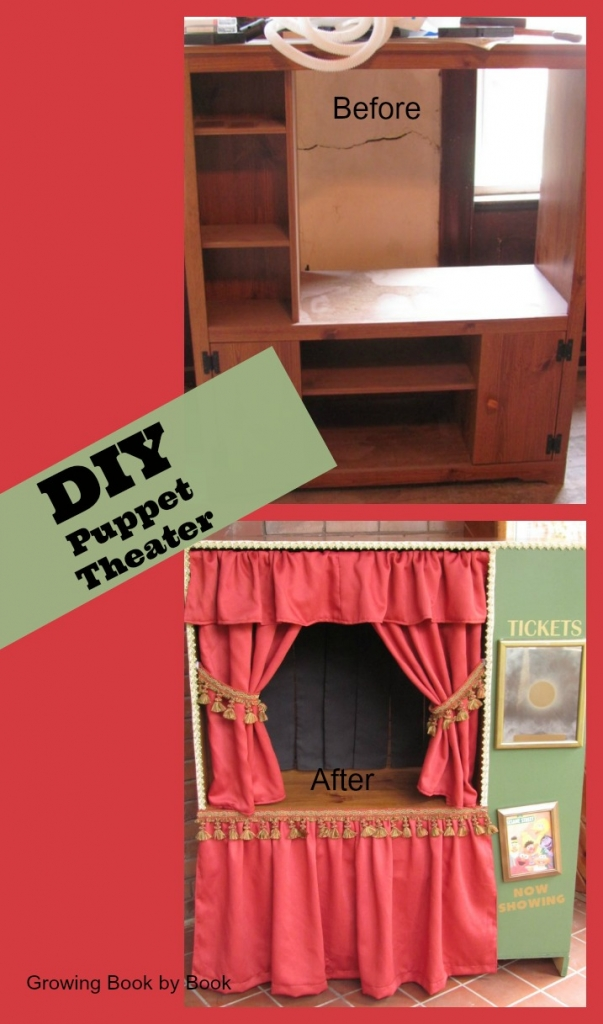 Puppet Shows Growing Book By Book