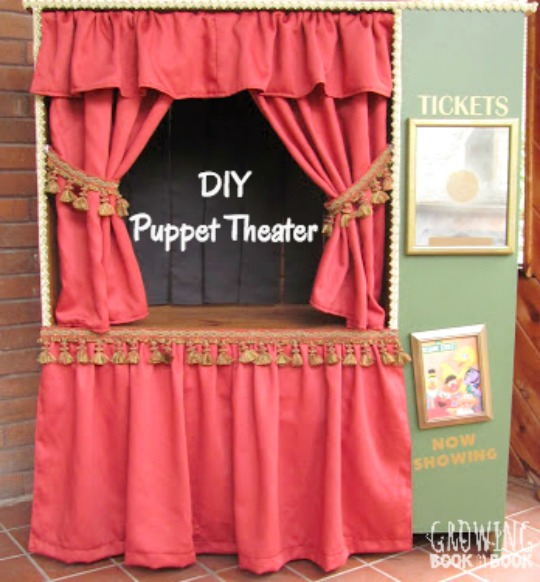 Diy Portable Puppet Stage Diy Projects