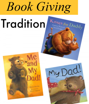 A father's day gift that will keep giving for future generations from growingbookbybook.com