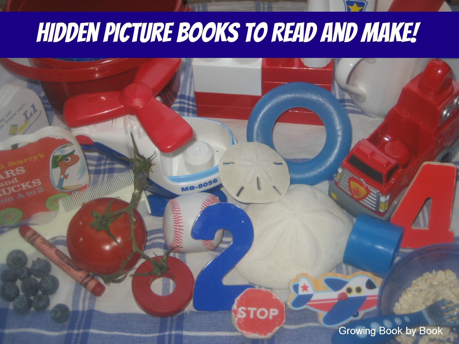 Hidden Picture Books