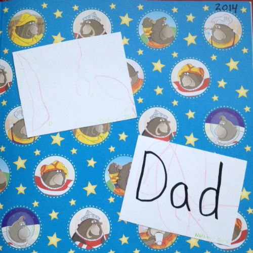 keepsake idea for Father's Day