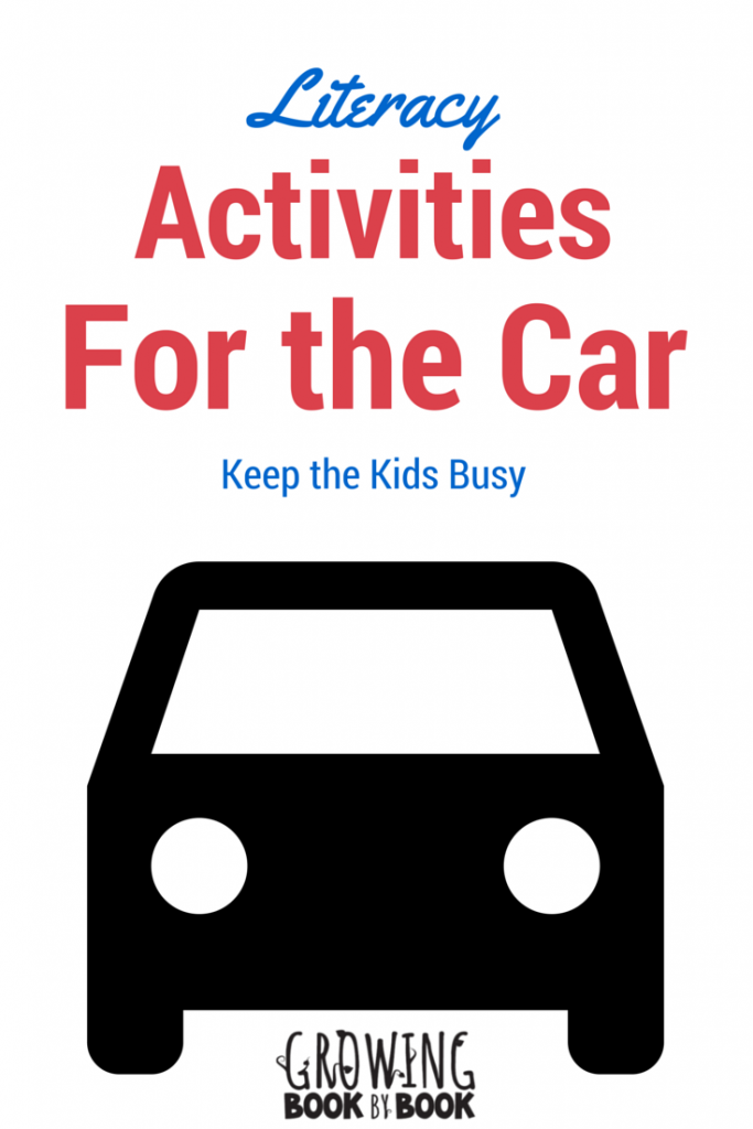 Keep the kids learning on a trip with this road trip ideas for the car.  Fun activities for the kids to do on a  summer trip.