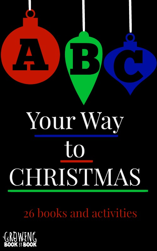 Literacy activities for Christmas:  26 books and family fun ideas from growingbookbybook.com