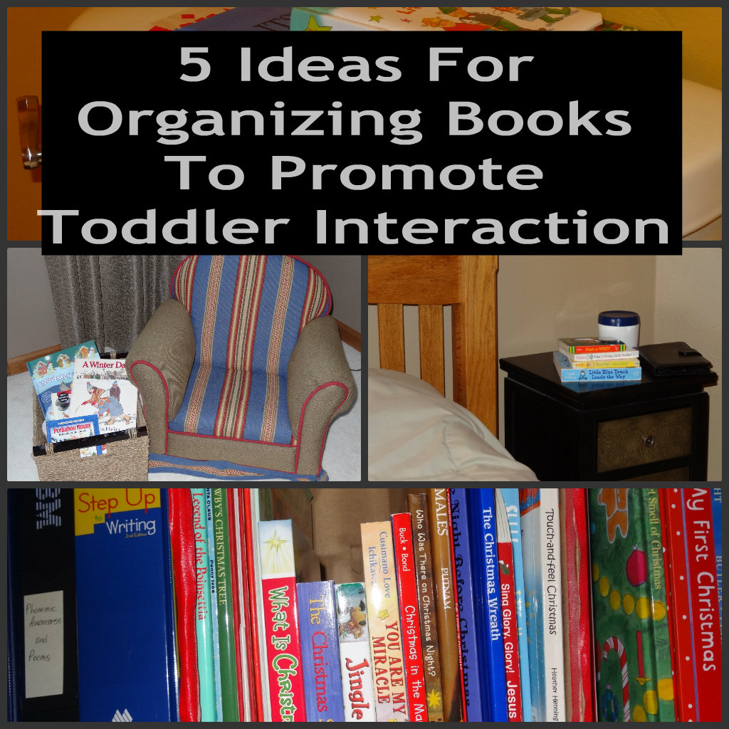 How To Organize Books In Toddler Room