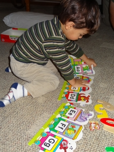 ABC Puzzles are a great way to learn the alphabet