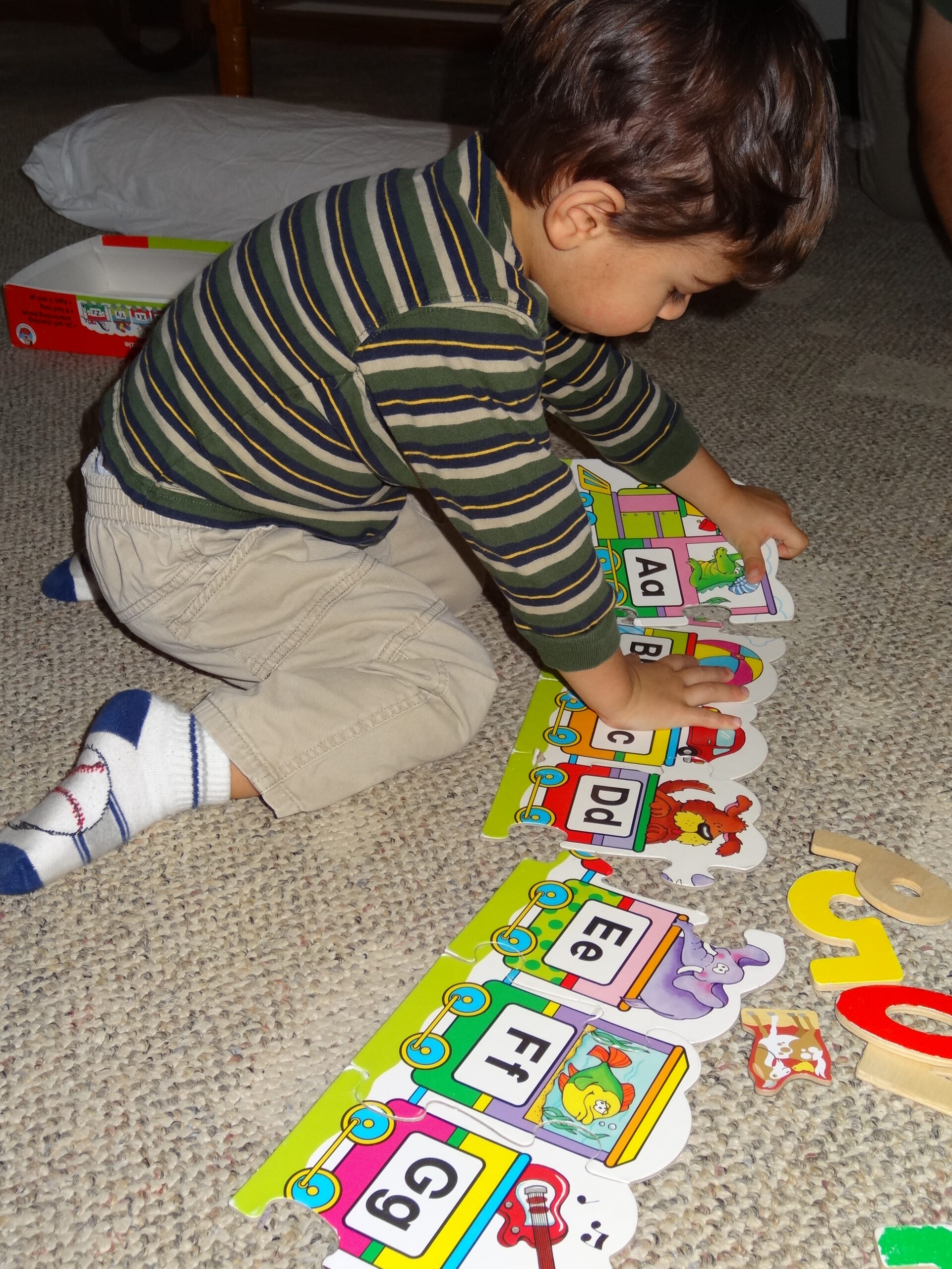 puzzles are great for learning about the alphabet