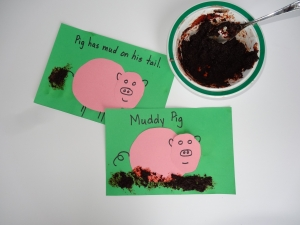 Create your own mud book for kids from growingbookbybook.com