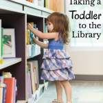 Visiting the library with a toddler can be a challenge. Here are 5 tips for making that trip a successful one!