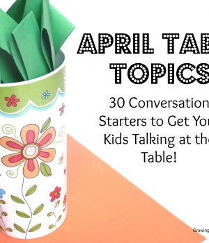 conversation starters, growing book by book, jokes and riddles