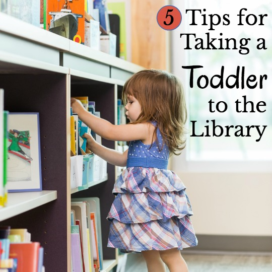 Survive the terrible twos while at the library with these tips!