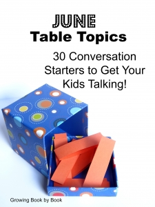 table topics for June