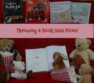 Children's Book Award celebration with a book gala picnic