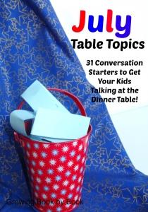 July Table Topics