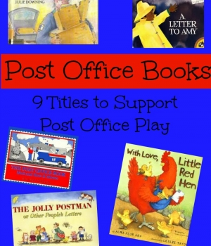 books about the post office are great for a dramatic play post office play