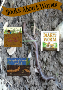 worms, dig into reading, books about worms