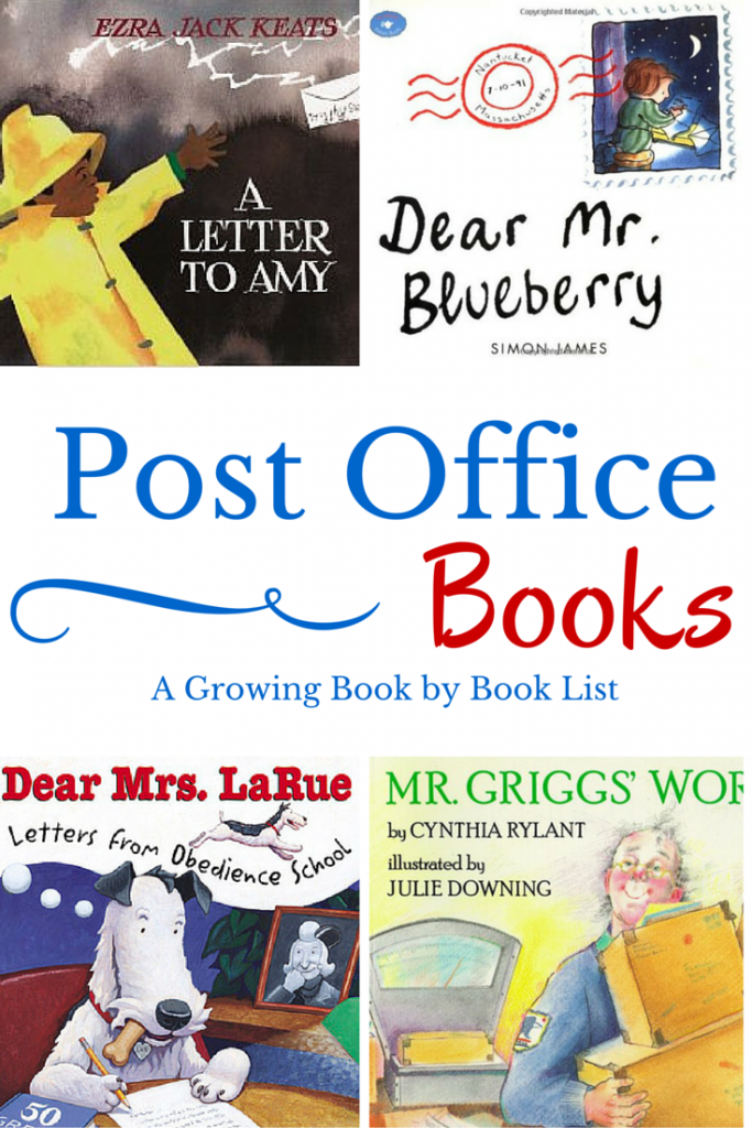 9 books about the post office and mail carriers that pair perfectly with a post office dramatic play area or a study of community workers.