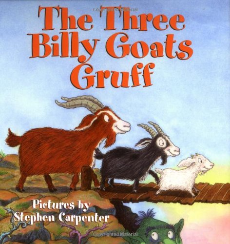 3 billy goats gruff book