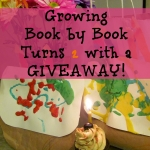 Growing Book by Book Turns 2 with a GIVEAWAY!