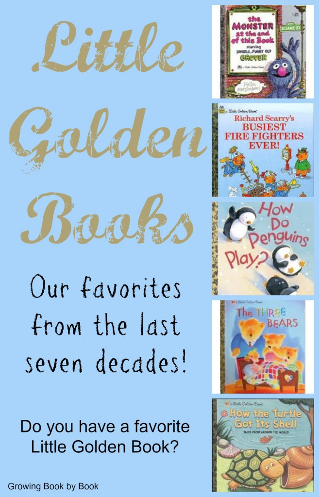 Favorite Little Golden Books from the past 7 decades