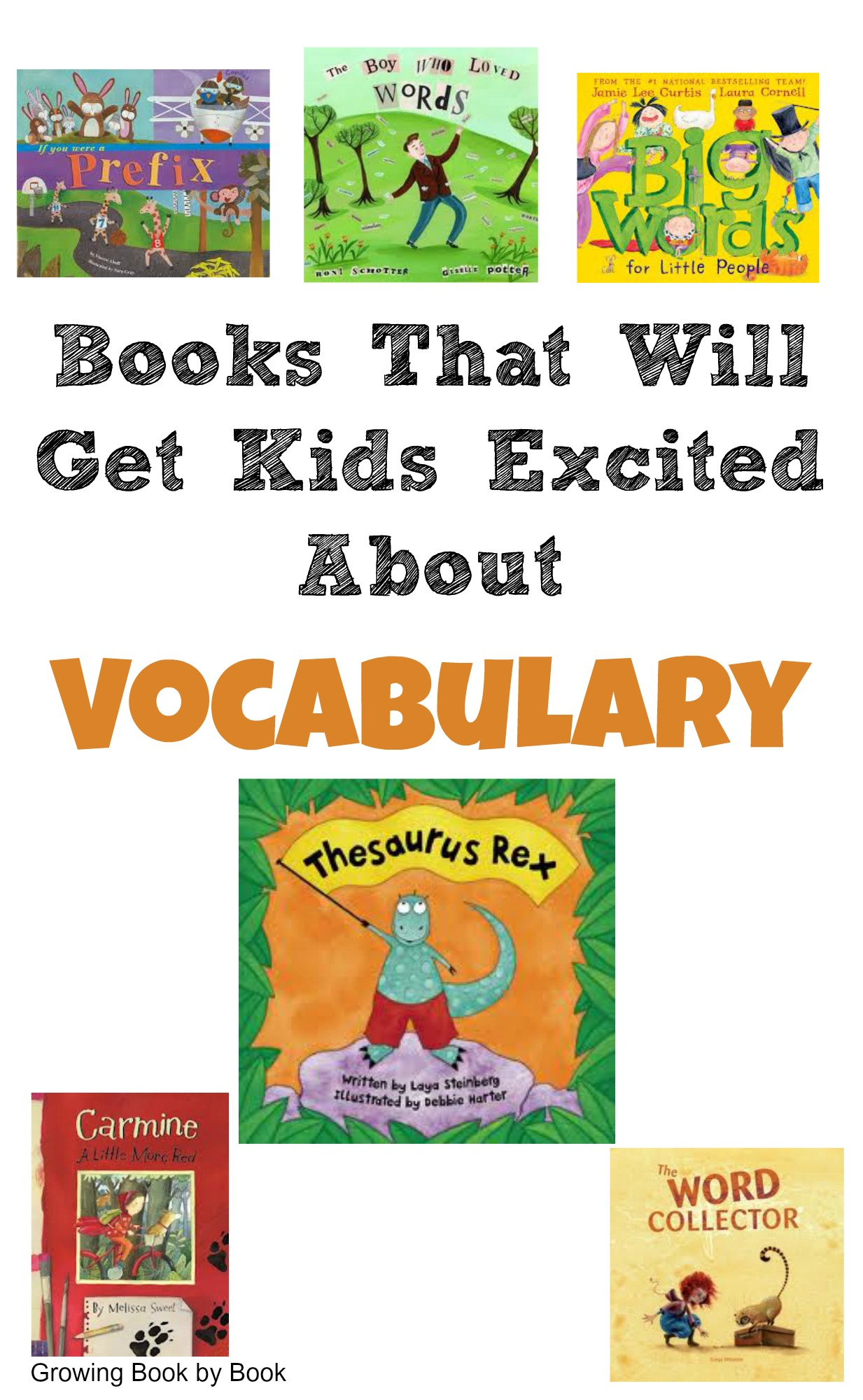 books for kids vocabulary books