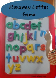 Magnetic Alphabet Games