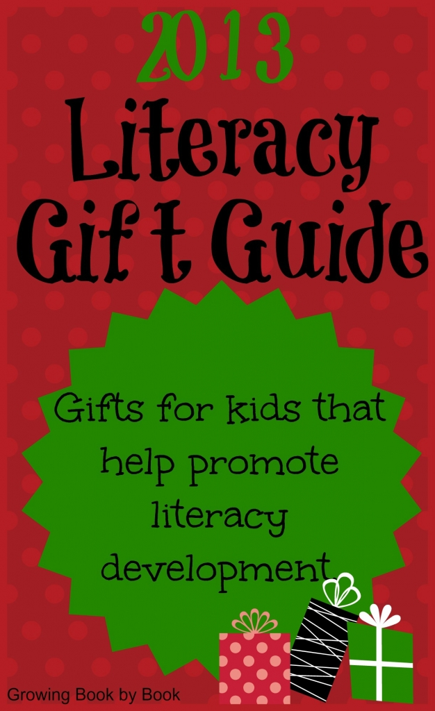 gifts ideas for kids to promote literacy from gtowingbookbybook.com