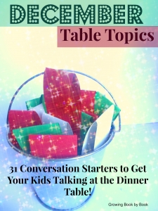 December Table Topics for families