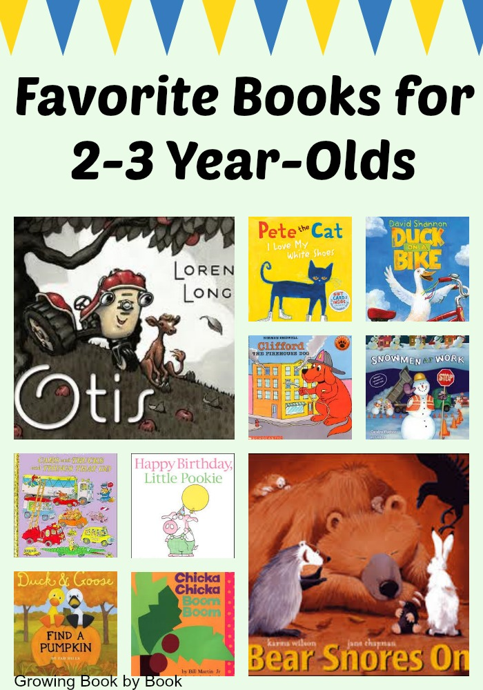 The best books for 2 year olds that will have little ones loving to read.