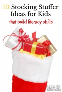 Stocking stuffer ideas for kids that will help build literacy skills. Check out these educational stocking stuffer ideas.