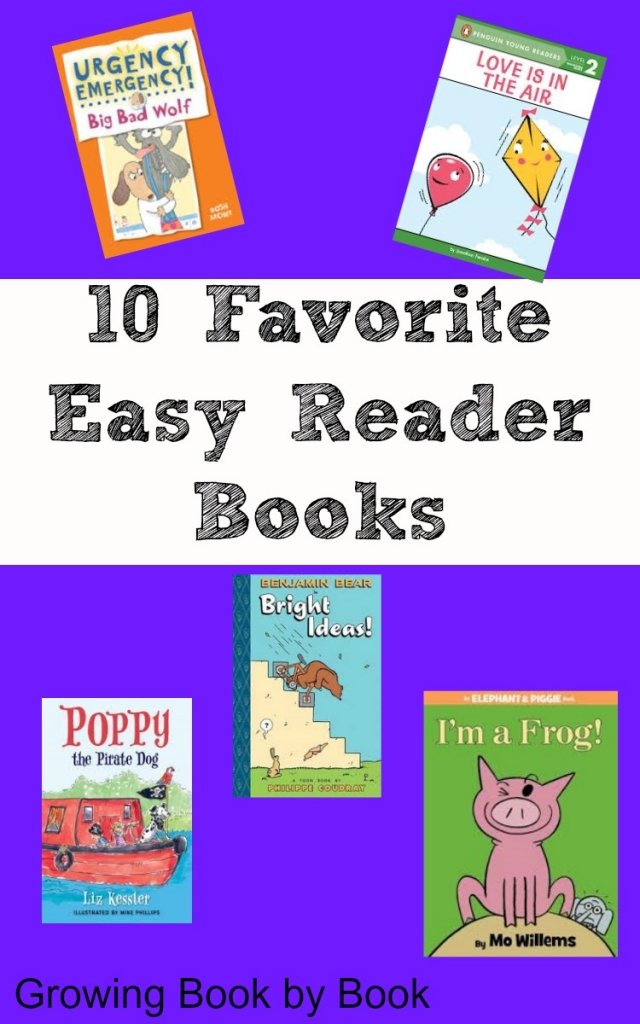 Books for Kids: 10 Favorite Easy Readers from growingbookbybook.com