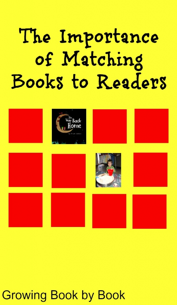 Books for Kids:  Matching books to readers from growingbookbybook.com