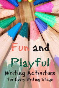 fun and playful writing activities from http://growingbookbybook.com
