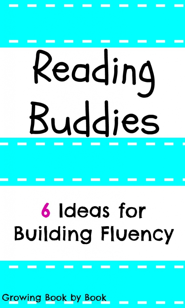 Ideas for creating a reading buddy to work on fluency skills from growingbookbyboook.com