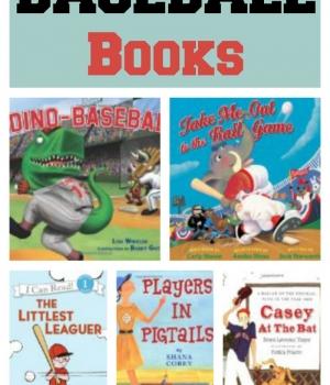 books for kids: baseball books from growingbookbybook.com