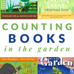 books that teach counting in the garden
