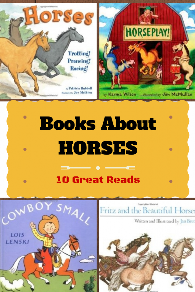 Books About Horses for Kids from growingbookbybook.com