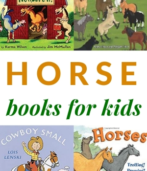 Books about horses for kids