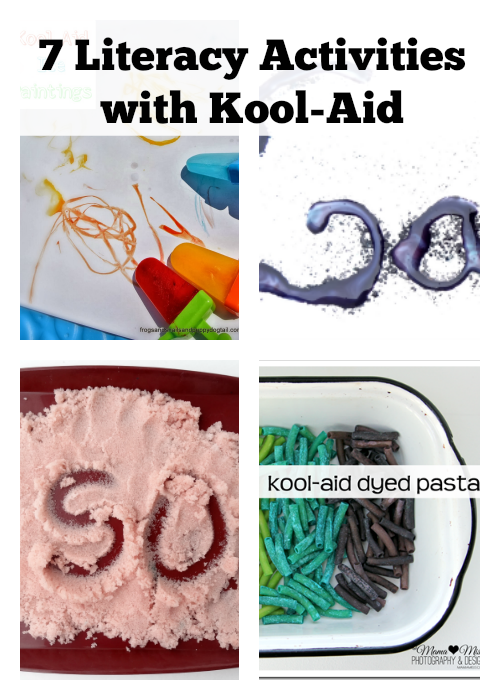 7 Literacy Activities with Kool-Aid