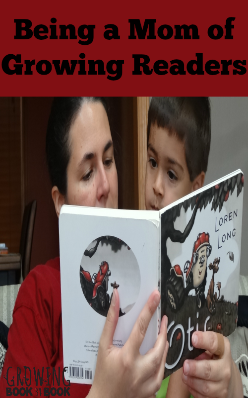 Being a Mom of Growing Readers