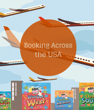 Booking Across the USA project from growingbookbybook.com