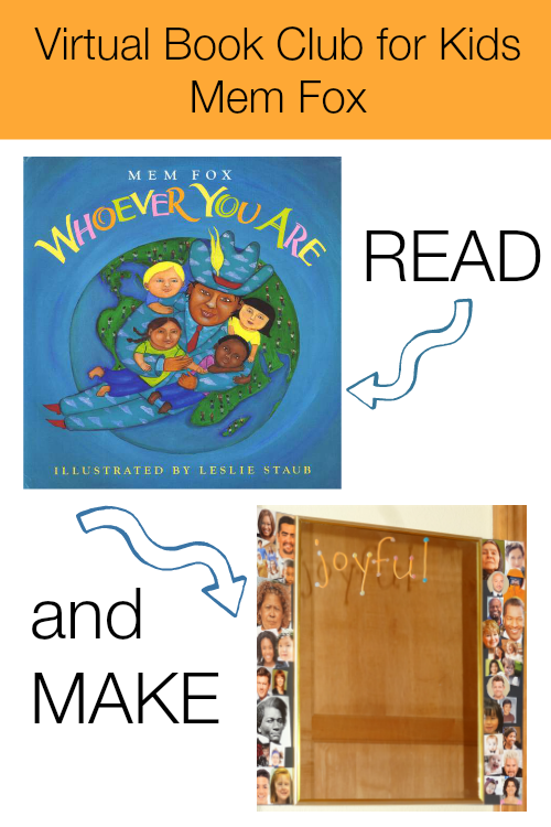 VBC with Mem Fox featuring Whovere You Are from growingbookbybook.com