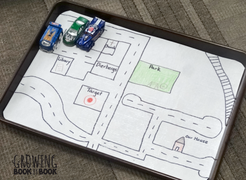 fun car trip game to play to develop literacy skills