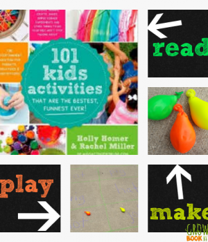 Balloon bean bags from 101 Kids Activities to play the game Adding to the Family
