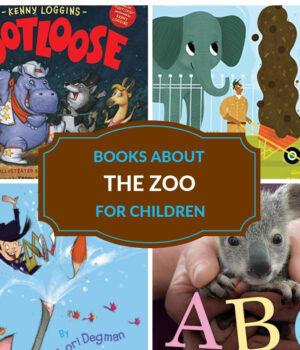 fiction and nonfiction books about the zoo for children