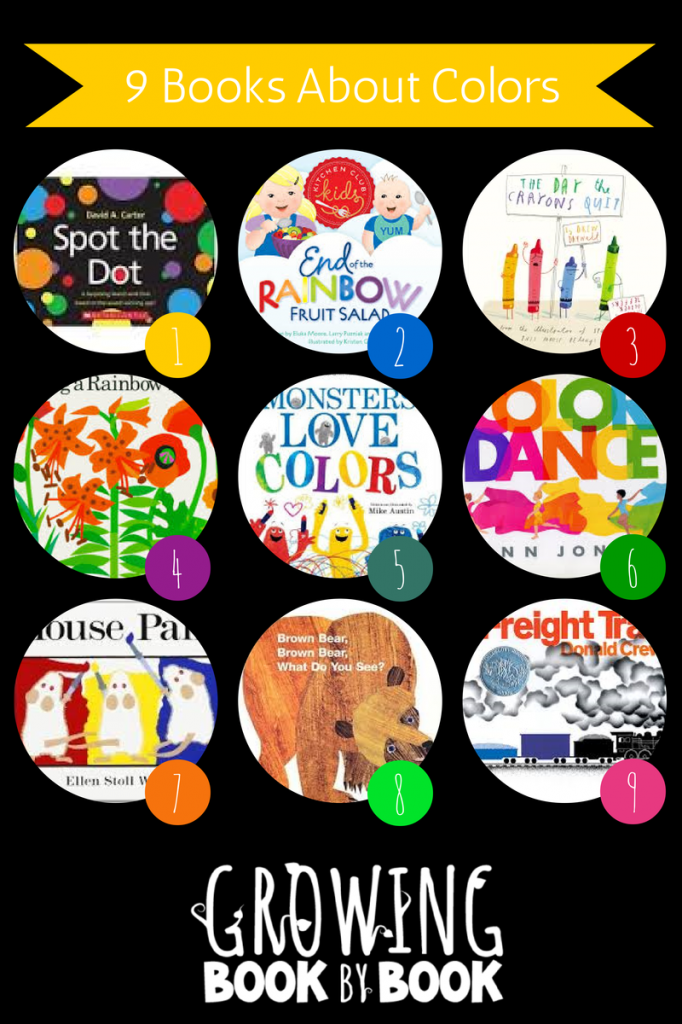books for kids color books from growingbookbybookcom - Kids Color Book
